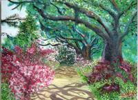 2007 - Garden Path - Canvasoil