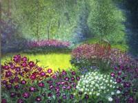 Sold - Gardenscape - Canvas