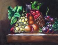 Oil Paintings - Fruit - Oil On Canvas