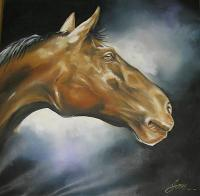 Realism - Strenght - Oil On Canvas