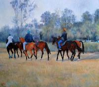 01 - Polo My Passion - Oil On Canvas