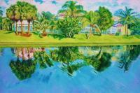 Realism - My Florida - Oil On Canvas