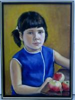 Realism - My Little Girl - Oil On Canvas