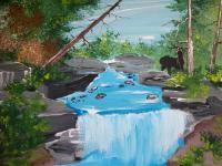 Landscapes - The Falls - Acrylic