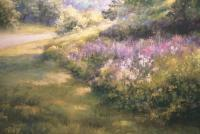 Road To Hibernia - Pastel Paintings - By Bill Puglisi, Impressionistic Painting Artist