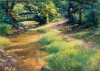 Shupps Grove - Pastel Paintings - By Bill Puglisi, Impressionistic Painting Artist