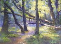 Crossing Over - Pastel Paintings - By Bill Puglisi, Impressionistic Painting Artist
