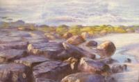Seascapes - Jersey Jetty - Pastel