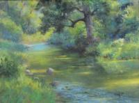 Landscape - A Midsummer Day's Stream II - Add New Artwork Medium