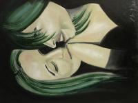 Portraits - Intimacy - Oil On Canvas