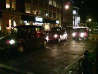 Photographs - 3 Taxis In Soho - Digital