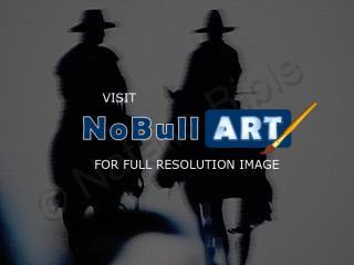 Abstract - Cowboys In The Night - Photography