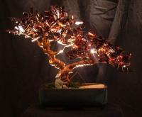 A Moment - Copperglass Glasswork - By Fred Maddocks, Nature Glasswork Artist