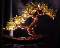 Untitled - Copperglass Glasswork - By Fred Maddocks, Nature Glasswork Artist