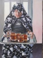 Madam - Oil Painting Paintings - By Estabragh Mousavi, Real Painting Artist