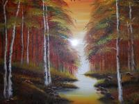 Landscapes - Evening Paradise - Oils
