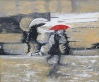 The Delicate Sound Of Rain - Oil Paintings - By Jacek Gaczkowski, Contemporary Painting Artist