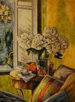 Still Life - Still Life In The Morning - Oil On Linen