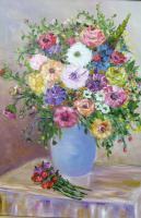 Flowers - 092 - Oil On Canvas