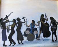 Music - 236 - Oil On Canvas