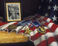 None But The Brave - Oil On Canvas Paintings - By Robert Goldsberry, Realism Painting Artist
