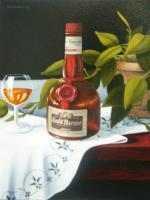 Last Of The Grand Memories - Oil On Canvas Paintings - By Robert Goldsberry, Realism Painting Artist