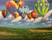 Outdoors - Up Up And Away - Acrylic