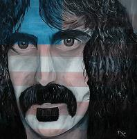 People - Zappa - Oil On Canvas