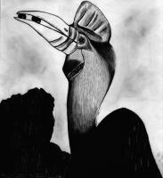 Drawing - Bird - Pencil