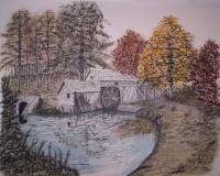 Add New Collection - The Old Mill - Mixed Media