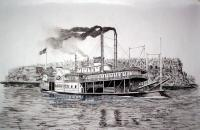Riverboats - Rixerboat Davenport - Ink