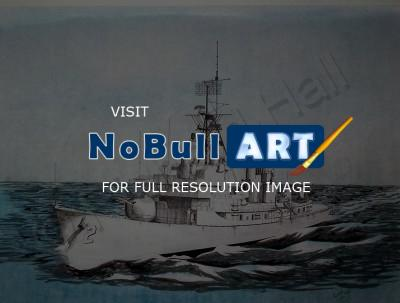 Add New Collection - Uss Charles F Adams Ddg-2 - Mixed Media