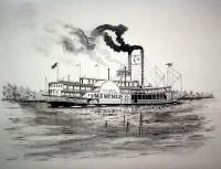 Riverboats - Riverboat Belle Of Memphis - Ink
