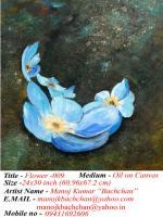 Yes - Flower 027 - Oil On Canvas