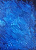 Fancy - Quite Blue Water - Oil On Canvas