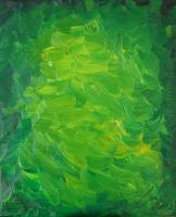 Fancy - Green Water - Oil On Canvas