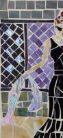 From My Great Ladies Collectio - Golightly Into That Good Night - Stained Glass Mosaic