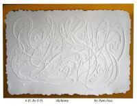 Abstract Bas-Reliefs - Alchemy - Cast Paper
