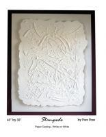 Abstract Bas-Reliefs - Stampede - Cast Paper