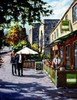 People - Maynooth Street Scene - Acrylic