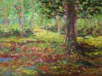 Landscape - Early Autumn - Oil On Canvas