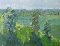 Landscape - The Hill - Oil On Canvas