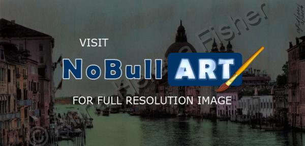 Realism - Venice  Italy - Photomarkersand Color Pencil