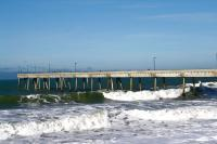 Nature - Pier On The Pacific Ocean - Dslr