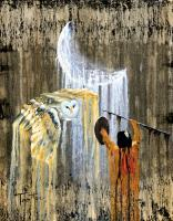 American Indian Spirit World - Night Spirit - Oil