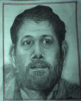 Sakhav Pushpan - Pencil Drawings - By Sajith Puthukkudi Sooryakiran Samoothiri, Impressionism Drawing Artist