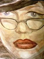 Portrait - Silken Thread - Watercolor
