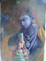 Painting - Kathputli - Oil On Canvas