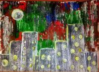 Painting - Pallet Knife - Painting On Paper