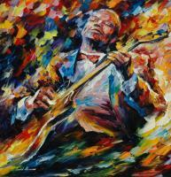 Famous Musicians - Bb King - Oil